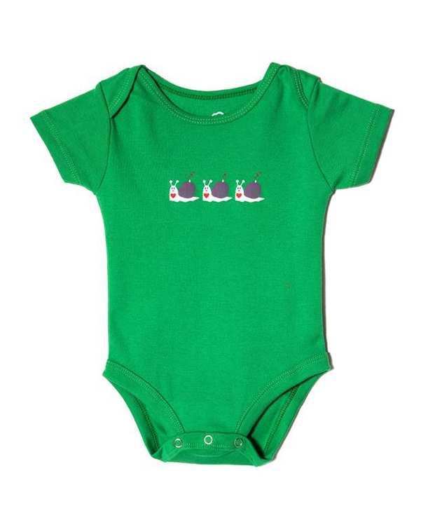 بادی پسرانه نوزادی نخی سبز تانیش