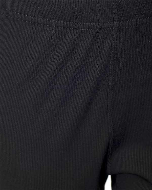 شلوار زنانه استرچ کبریتی مشکی تانیش