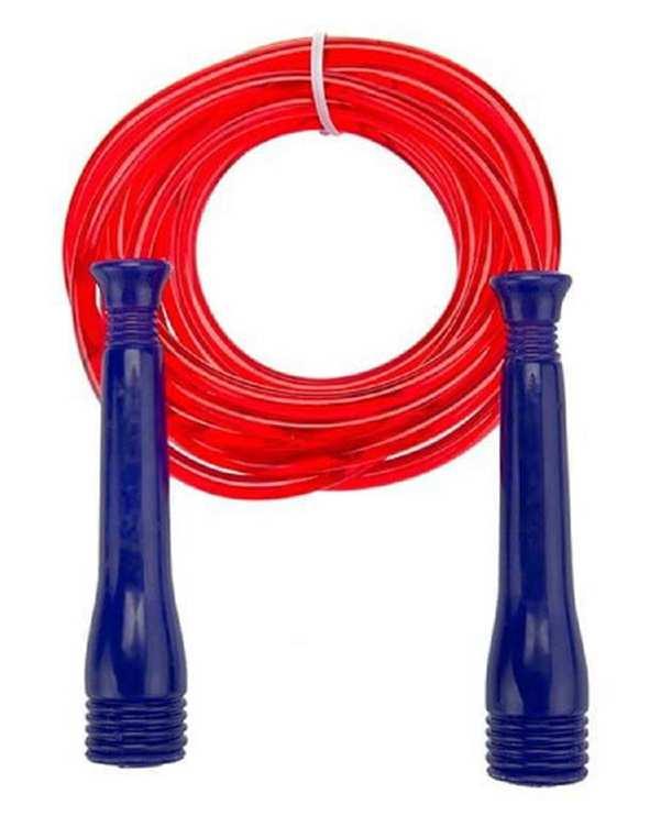 طناب ورزشی قابل تنظیم قرمز تن زیب