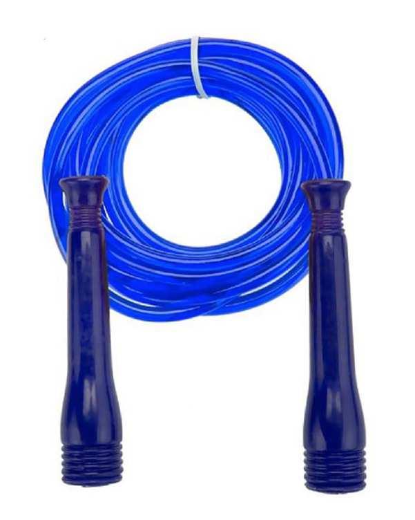 طناب ورزشی قابل تنظیم آبی تن زیب