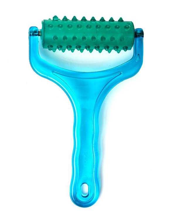 ماساژور دستی بدن آبی سبز تن زیب