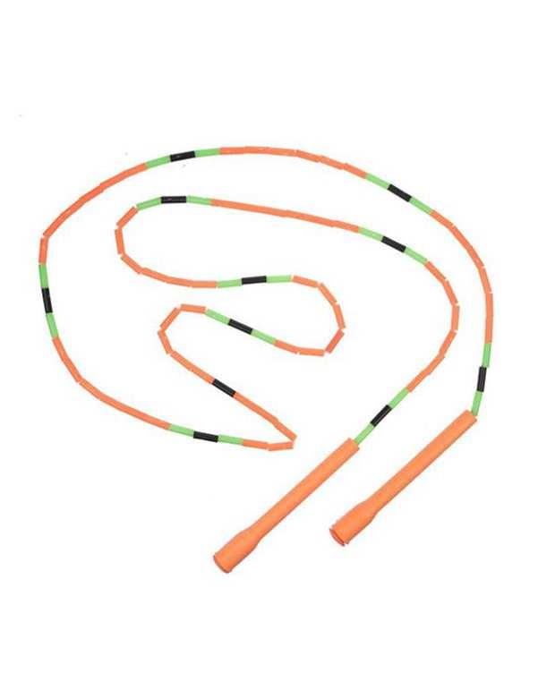 طناب جادویی دسته بلند نارنجی تن زیب