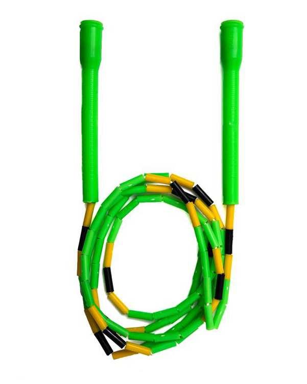 طناب جادویی دسته بلند سبز تن زیب