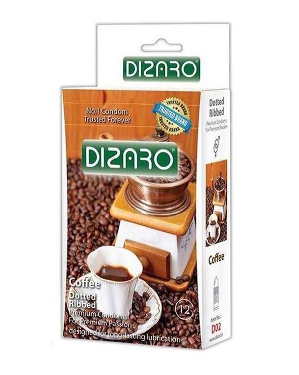بسته 12 عددی کاندوم مدل Coffee دیزارو