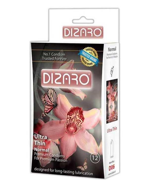 کاندوم مدل Ultra Thin دیزارو بسته 12 عددی