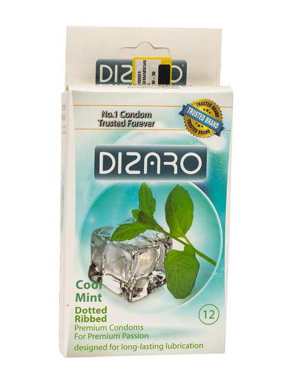 بسته 12 عددی کاندوم مدل Cool Mint دیزارو