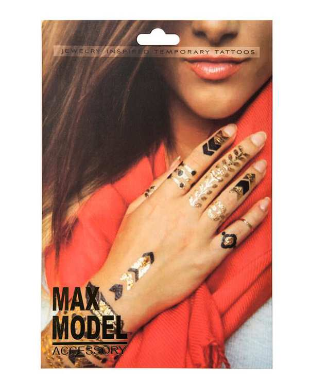تتو موقتطلایی Max Model