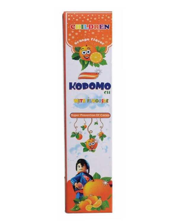 خمیر دندان کودک پرتقالی طرح سوپرمن 40 گرمی کودومو