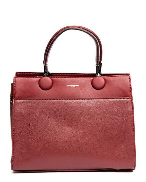 کیف زنانه دستی قرمز David Jones