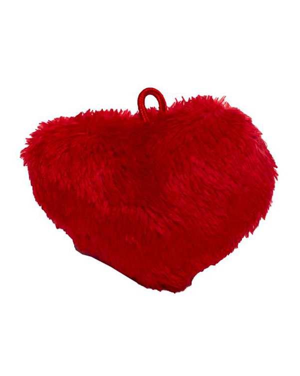 آویز قلب پولیشی قرمز