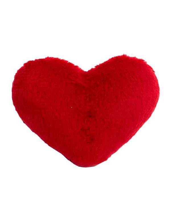 قلب تزئینی پولیشی قرمز