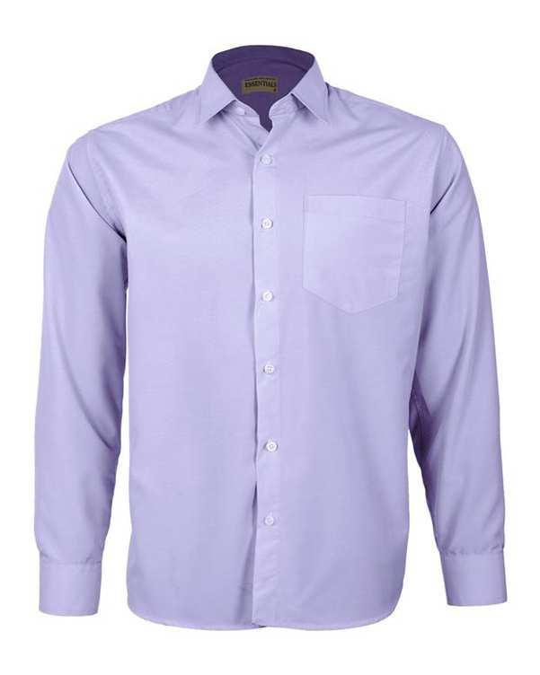 پیراهن مردانه مدل RegularFit-Tet-vt بنفش ناوالس