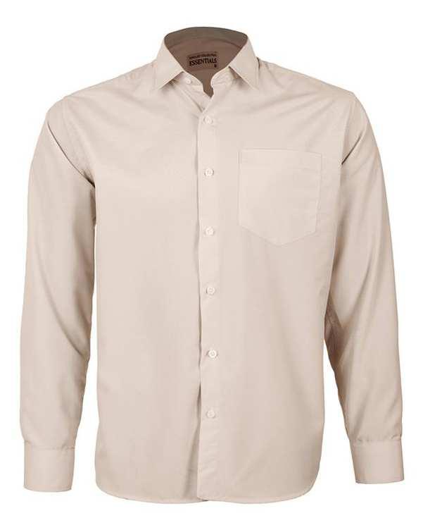 پیراهن مردانه مدل RegularFit-Tet-cm کرم ناوالس