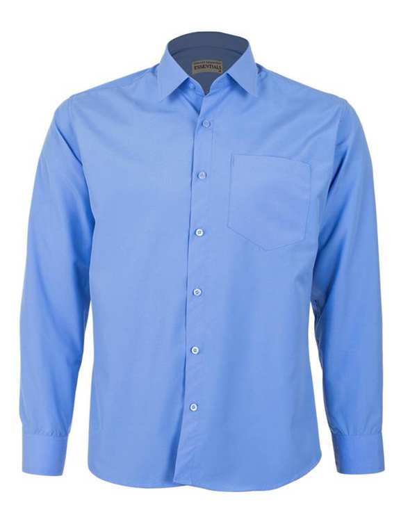 پیراهن مردانه مدل RegularFit-Tet-bl آبی ناوالس