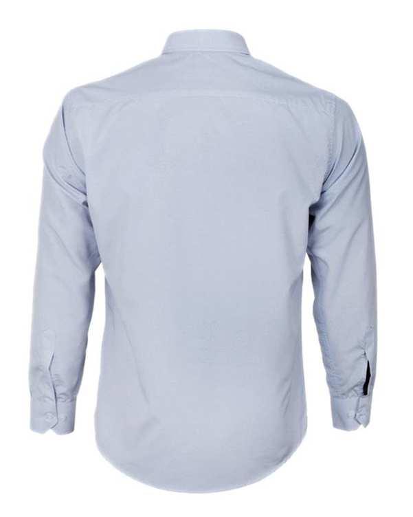 پیراهن مردانه مدل RegularFit-Tet-Lgy طوسی روشن ناوالس