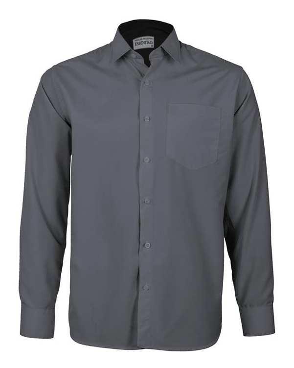 پیراهن مردانه مدل RegularFit-Tet-Dgy طوسی تیره ناوالس