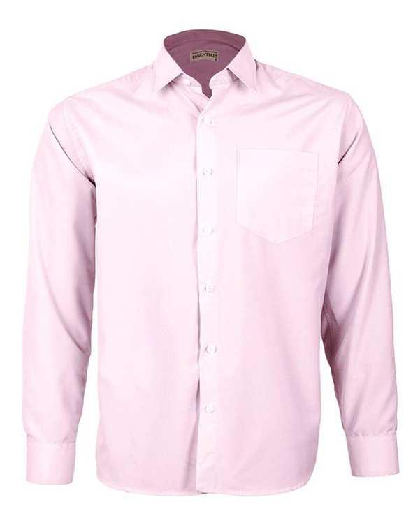 پیراهن مردانه مدل Tet-pk صورتی ناوالس