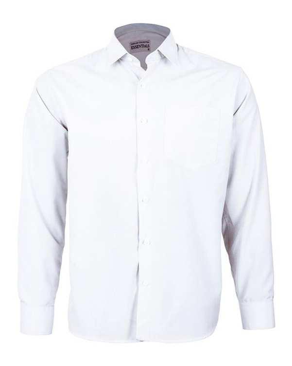 پیراهن مردانه مدل RegularFit-Tet-wh سفید ناوالس