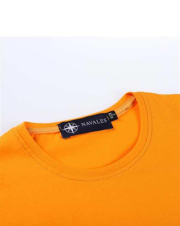 تی شرت بچگانه کد MUSIC-01-ORG نارنجی ناوالس