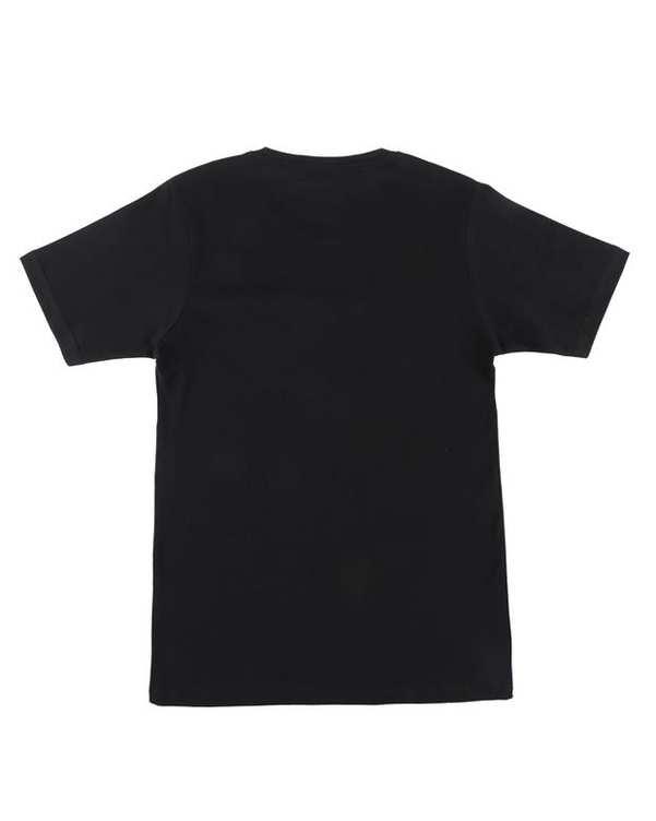 تی شرت بچگانه کد MUSIC-01-BL مشکی ناوالس