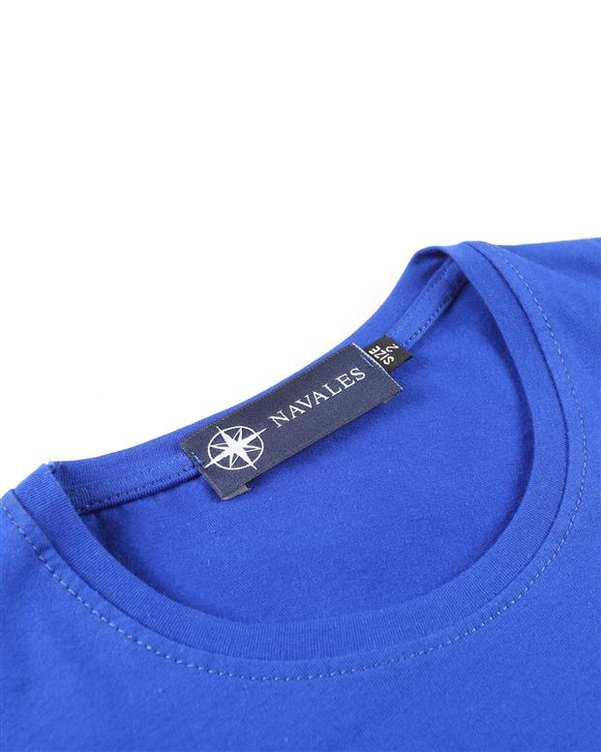تی شرت بچگانه کد CREATE-02-BL آبی ناوالس