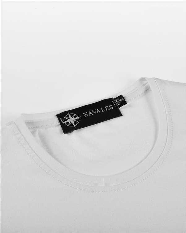 تی شرت بچگانه کد CREATE-02-WH سفید ناوالس
