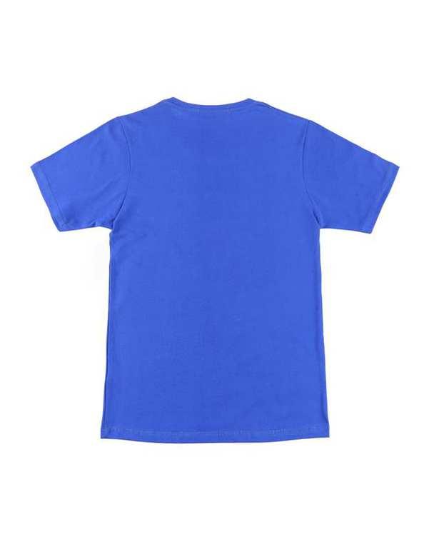 تی شرت بچگانه کد 82-BL آبی کاربنی ناوالس