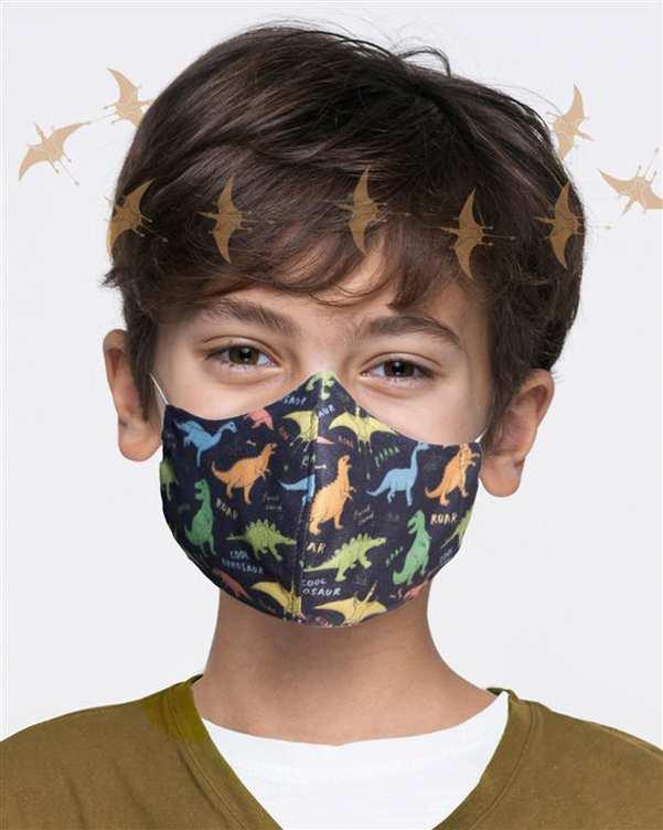 ماسک تنفسی بچگانه طرح دایناسور آکوکرفتز
