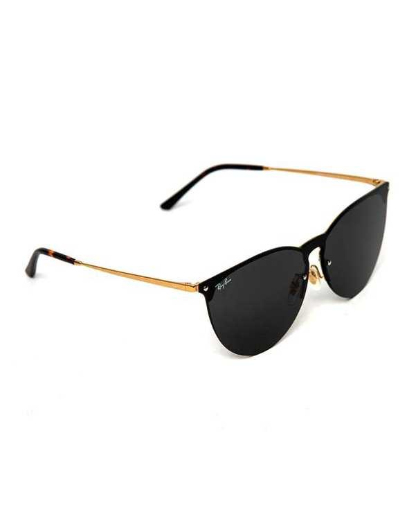 عینک آفتابی دودی طلایی RB36529015 ری بن