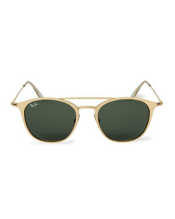 عینک آفتابی طلایی سبز Round RB3546 ری بن