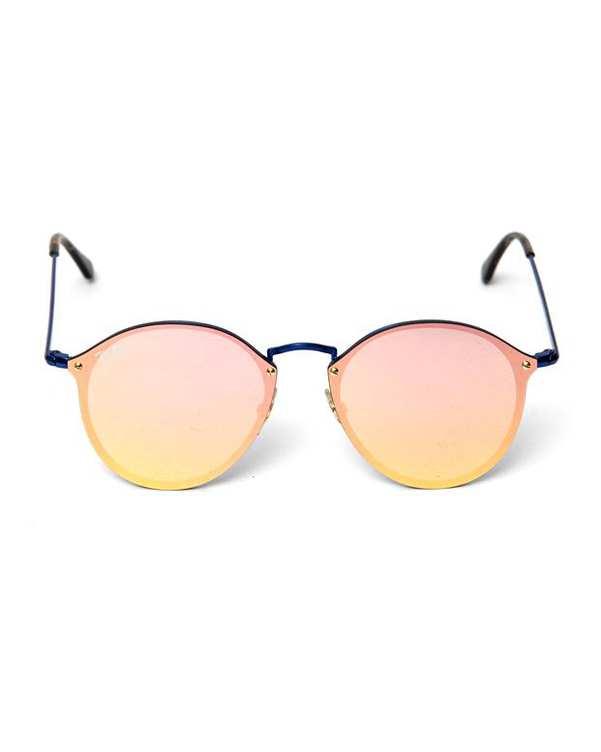 عینک آفتابی صورتی آبی BLAZE ROUND RB3574 ری بن