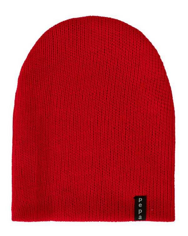 کلاه بافت قرمز پپا
