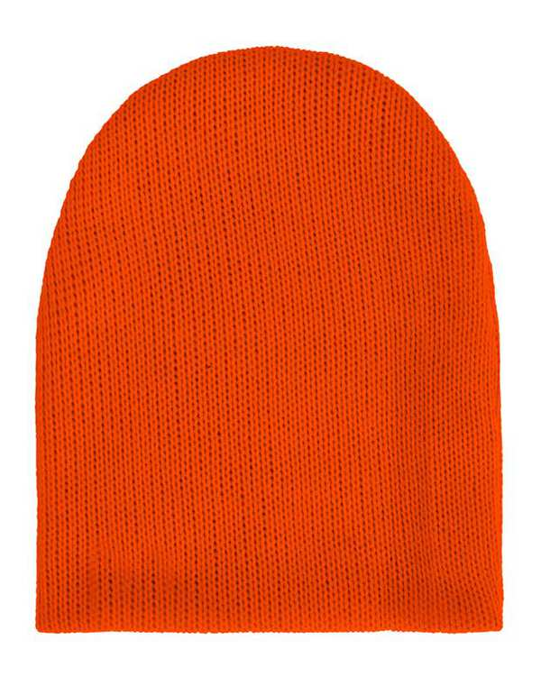 کلاه بافت نارنجی پپا