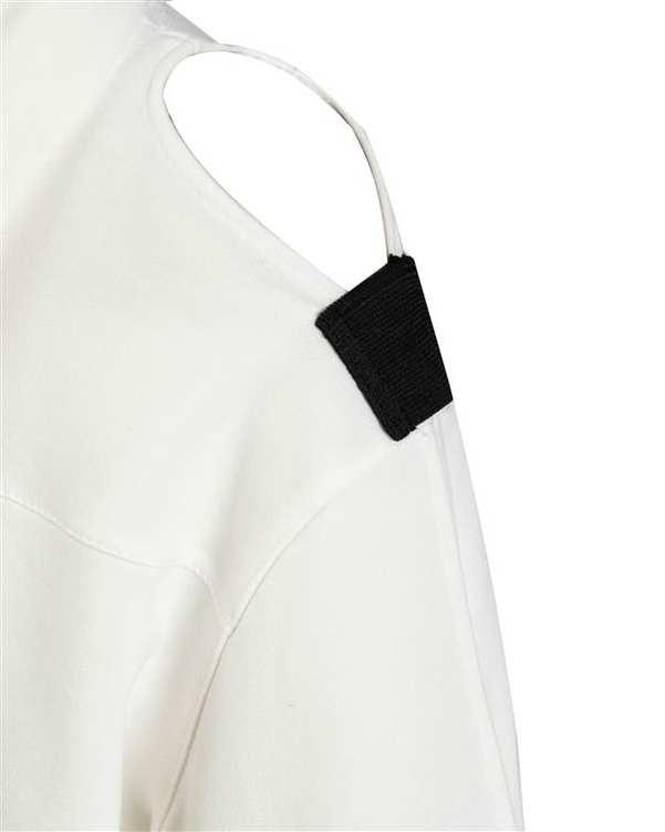 هودی زنانه کوتاه دورس سفید پپا
