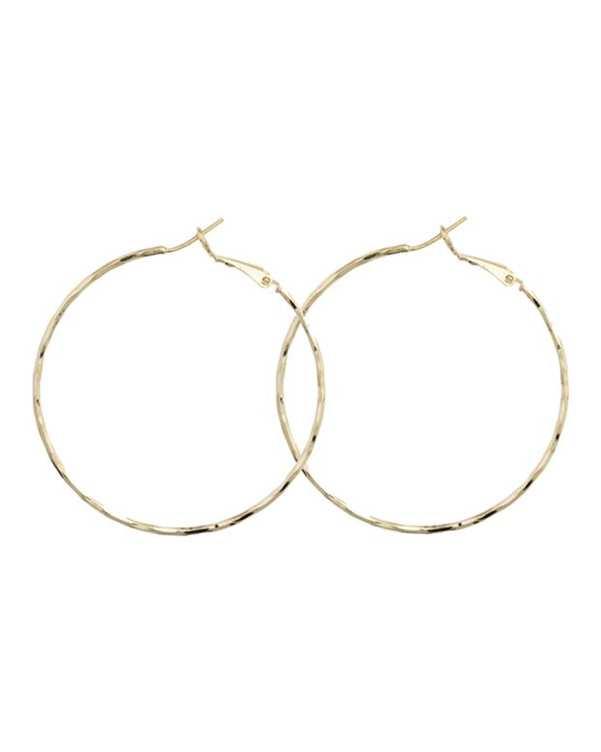 گوشواره حلقه ای طلایی کامیلا کنتی