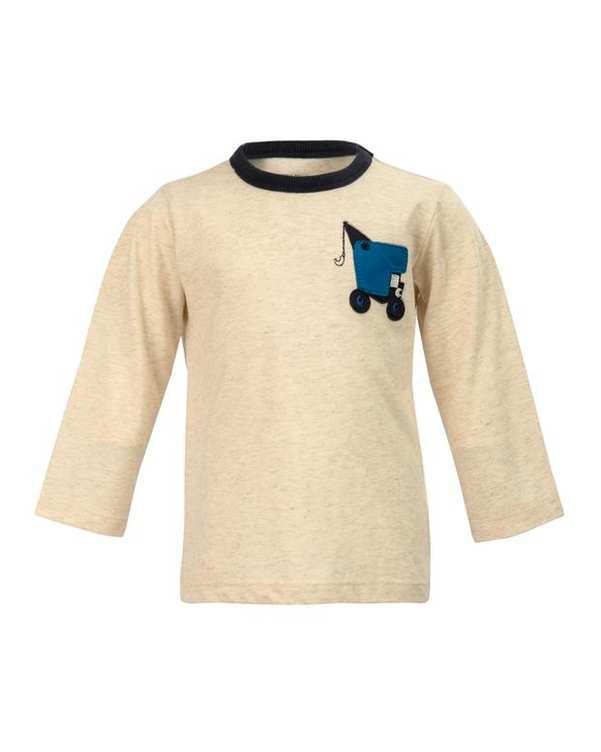 تی شرت پسرانه نوزادی آستین بلند کرم نکست