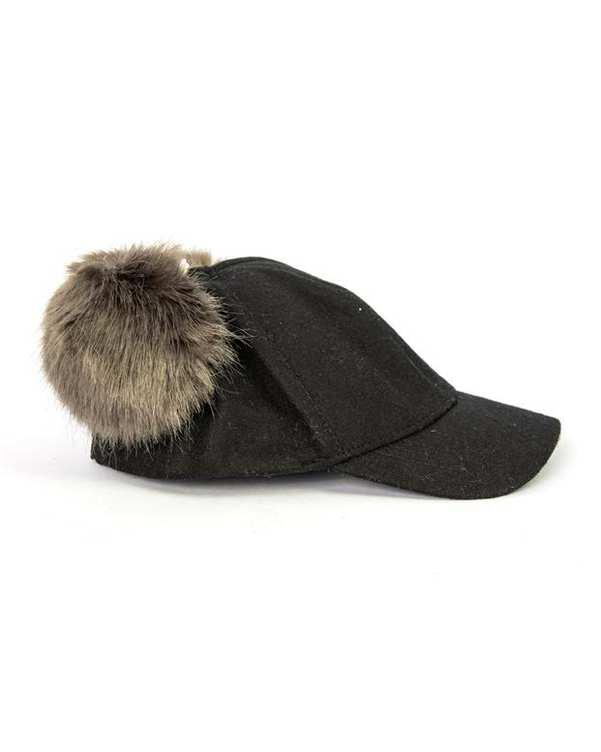 کلاه دخترانه منگوله دار مشکی نکست