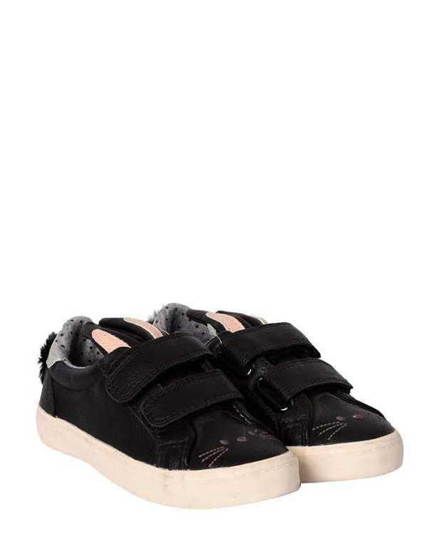کفش دخترانه کژوال چسبی مشکی نکست