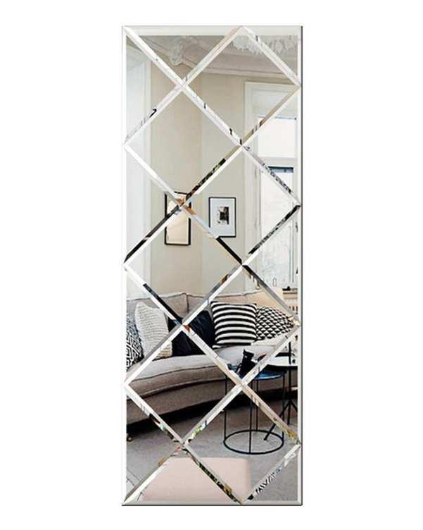 آینه مدل FIROZEH06 سفید تجسم