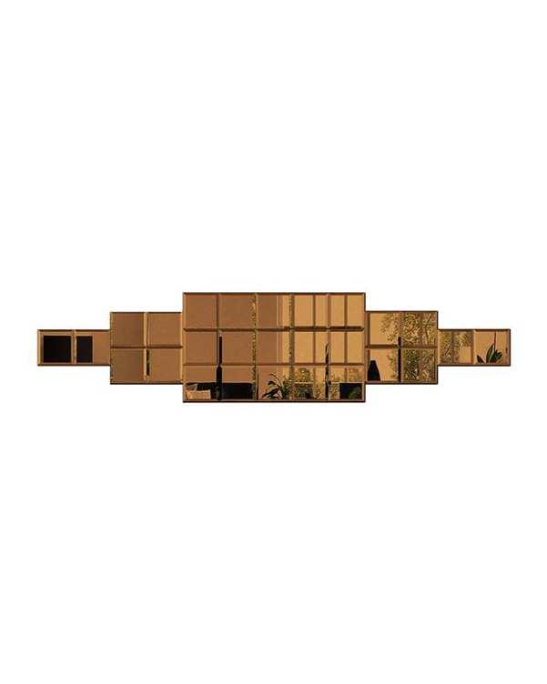 آینه مدل NEGIN06 برنز تجسم
