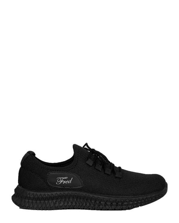 کفش مردانه کژوال جورابی مشکی فرد