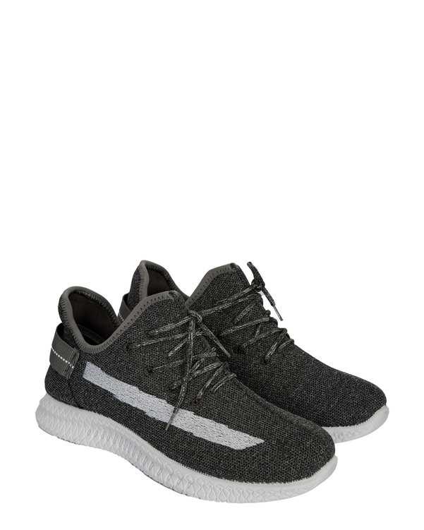 کفش مردانه ورزشی جورابی طوسیفرد