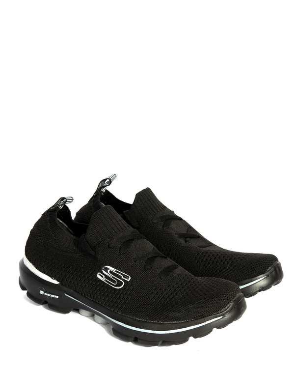 کفش مردانه رانینگ جورابی اسکچرز مشکیفرد
