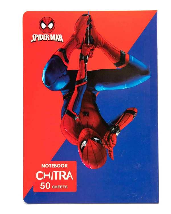 دفتر 50 برگ طرح مرد عنکبوتی چیترا