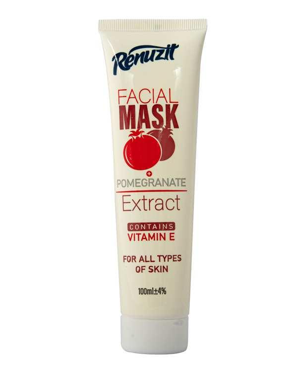 ماسک صورت ویتامینه حاوی عصاره انار 100ml رینوزیت