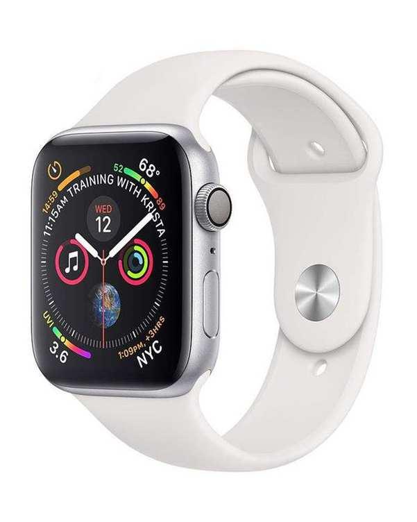 ساعت هوشمند APPLE silver 4 40mm