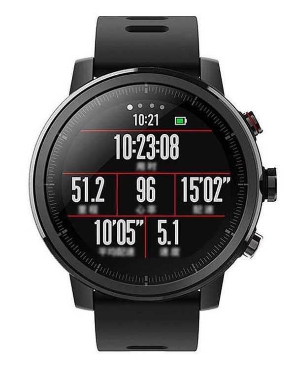 ساعت هوشمند Xiaomi Amazfit stratos Black