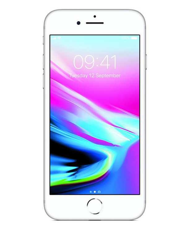 گوشی موبایل اپل مدل iphone 8 Silver ظرفیت 256 گیگابایت