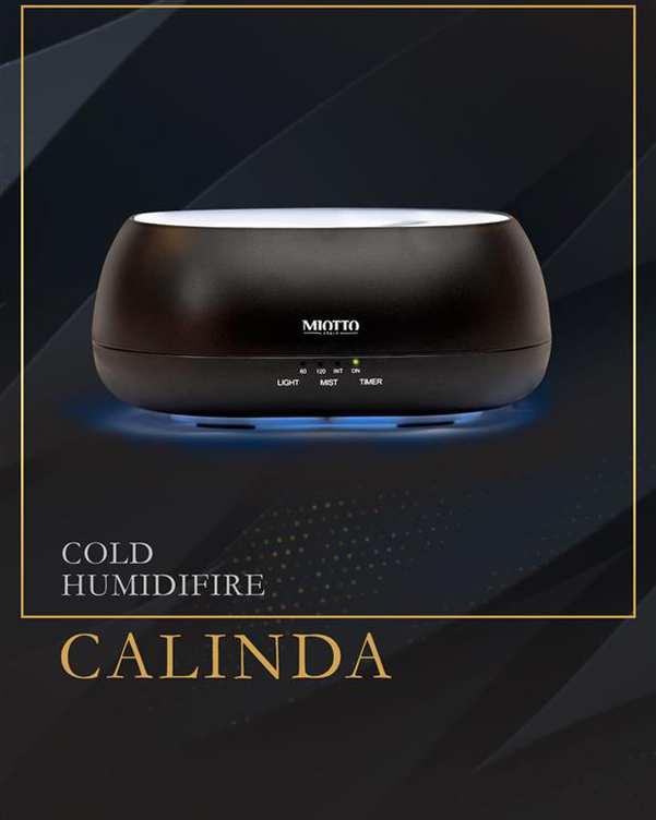 دستگاه بخور سرد Calinda مشکی Miotto