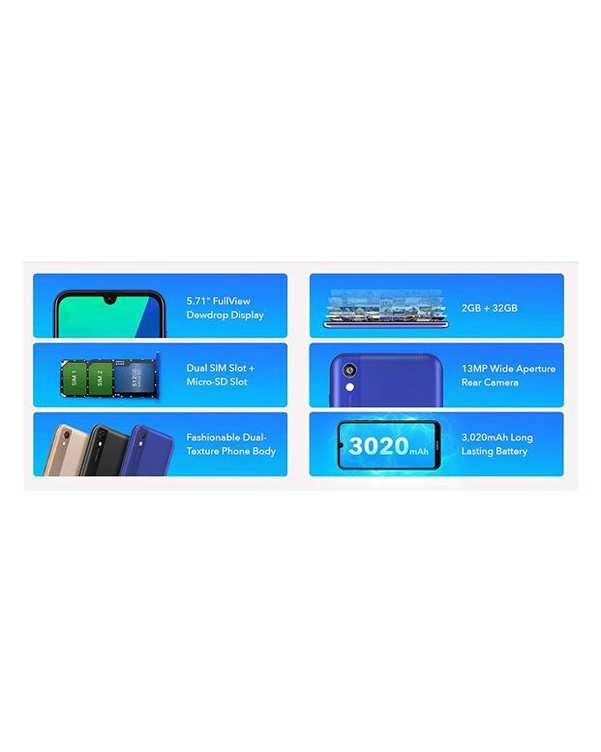 گوشی موبایل آنر مدل 8S KSA LX9 دو سیم کارت ظرفیت 32 گیگابایت